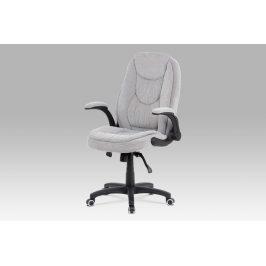 Kancelářská židle KA-G303 SIL2, šedá látka