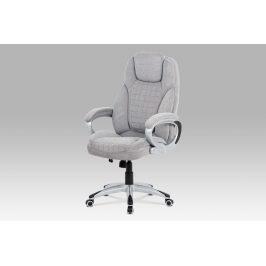 Kancelářská židle KA-G196 SIL2, šedá látka