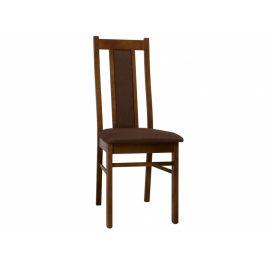 KORA židle KRZ, samoa king/hnědá látka