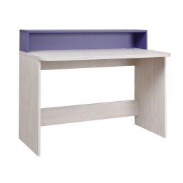 NUMERO PC STOLEK, dub bílý / fialová