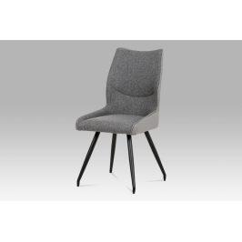 Jídelní židle DCH-351 GREY2, šedá/černá