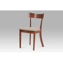 Jídelní židle BC-3333 TR3, krémová/třešeň