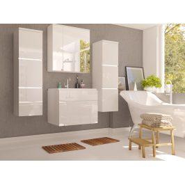 PORTO, koupelnová sestava, bílý lesk