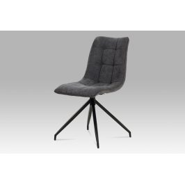 Jídelní židle HC-396 GREY2, šedá/antracit