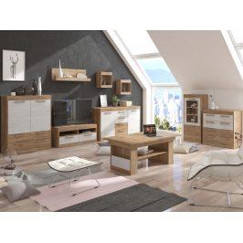 MAXIMUS obývací pokoj 6, craft zlatý/craft bílý