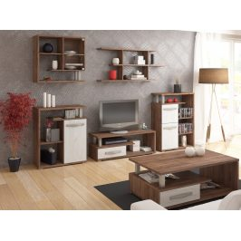 Obývací pokoj ANGEL 1, craft tobaco/craft bílý
