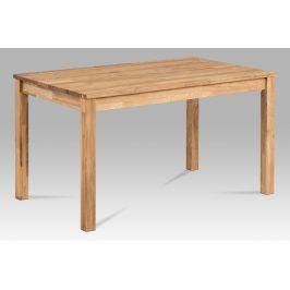 Jídelní stůl 135x80 T-2135 OAK, dub masiv