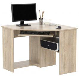 PC stůl rohový SMART 1, dub sonoma