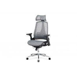 Kancelářská židle KA-A189 GREY, šedá Kancelářská křesla