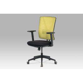 Kancelářská židle KA-M01 GRN, zelená síťovina/černá látka Kancelářská křesla
