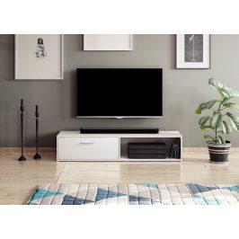 Televizní stolek SIMPLE, bílý mat Stolky pod TV