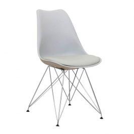 Jídelní židle METAL NEW, studená šedá Židle do kuchyně