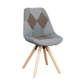 Designová stolička PEPITO TYP 10, látka patchwork Židle do kuchyně