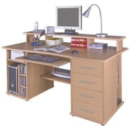 PC stůl FRANZ buk MB Franz-buk