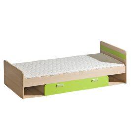 Casarredo LORENTTO, postel L13, jasan/limetka,včetně matrace