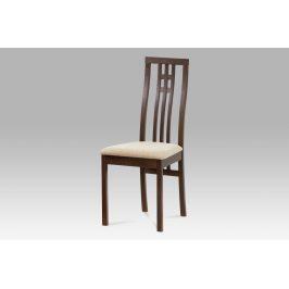 Dřevěná židle BC-2482 WAL, ořech