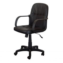 Kancelářské křeslo MANAGER, černá barva