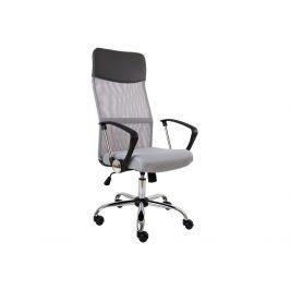 Kancelářská židle MEDEA, šedá/černá