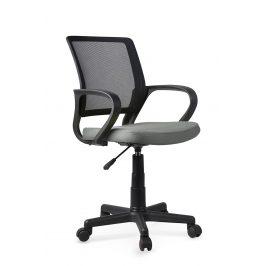 Dětská kancelářská židle JOEL, šedo-černá