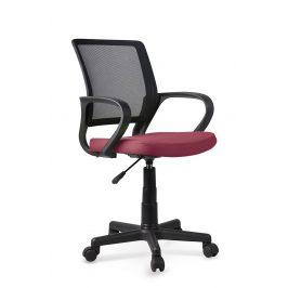 Dětská kancelářská židle JOEL, růžovo-černá