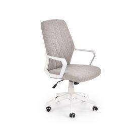 Kancelářská židle SPIN 2, béžovo-bílá