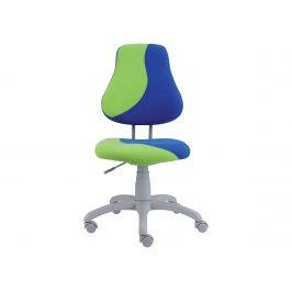 Dětská židle FUXO S, modrá/zelená