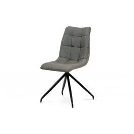 Jídelní židle HC-396 COF2, hnědá/antracit