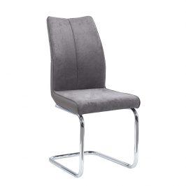 Jídelní židle FARULA, šedohnědá/šedá