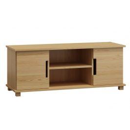Televizní stolek MODERN NR 6, 120/55/47, masiv borovice