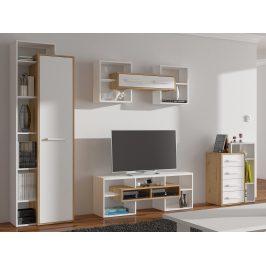 Obývací pokoj RIO 2, dub artisan/bílá