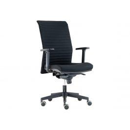 Kancelářská židle REFIRE, černá