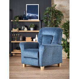 Relaxační křeslo BARD, tmavě modrá