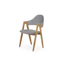 Jídelní židle K-344, šedá