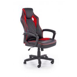 Kancelářské křeslo BAFFIN, černo-červená