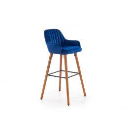 Barová židle H-93, námořnická modř