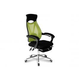 Kancelářské křeslo ADK Lazy, černá/zelená