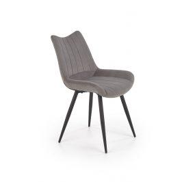Jídelní židle K-388, šedá