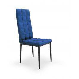 Jídelní židle K-415, námořnická modř