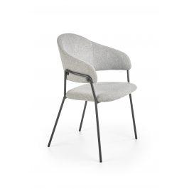 Jídelní židle K-359, světle šedá