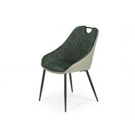 Jídelní židle K-412, zelená