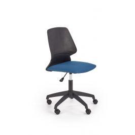 Dětská kancelářská židle GRAVITY, modrá/černá