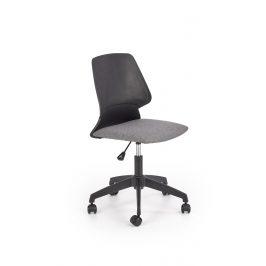 Dětská kancelářská židle GRAVITY, šedá/černá