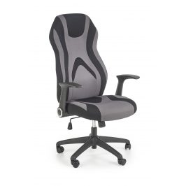 Kancelářská židle JOFREY, šedo-černá