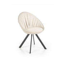Jídelní židle K-358, béžová