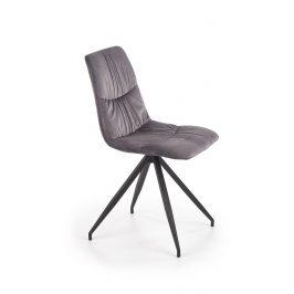Jídelní židle K-382, šedá