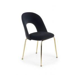 Jídelní židle K-385, černá
