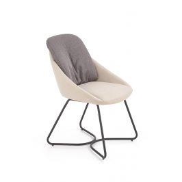 Jídelní židle K-391, šedá