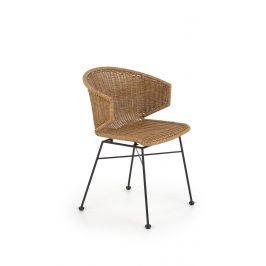 Ratanová židle K-407, přírodní