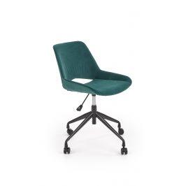 Dětská kancelářská židle SCORPIO, tmavě zelená