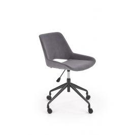 Dětská kancelářská židle SCORPIO, tmavě šedá